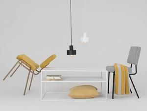 Konferenční stolek TENSIO 2 FLOOR METAL 100x60 small 2