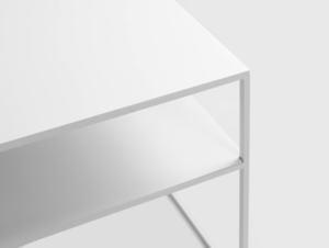 Konferenční stolek TENSIO 2 FLOOR METAL 100x60 small 4