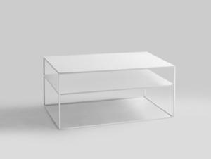Konferenční stolek TENSIO 2 FLOOR METAL 100x60 small 0