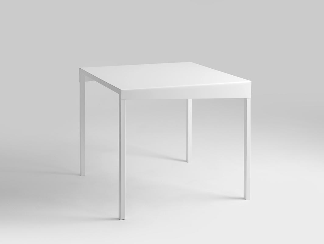 OBROOS METAL 80x80 jídelní stůl
