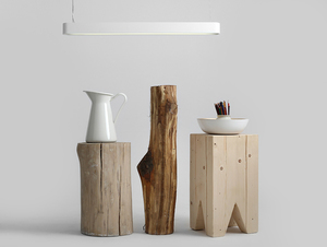 Závěsná lampa LAXO 90 - bílá small 2