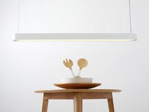 Závěsná lampa LAXO 120 - bílá small 1