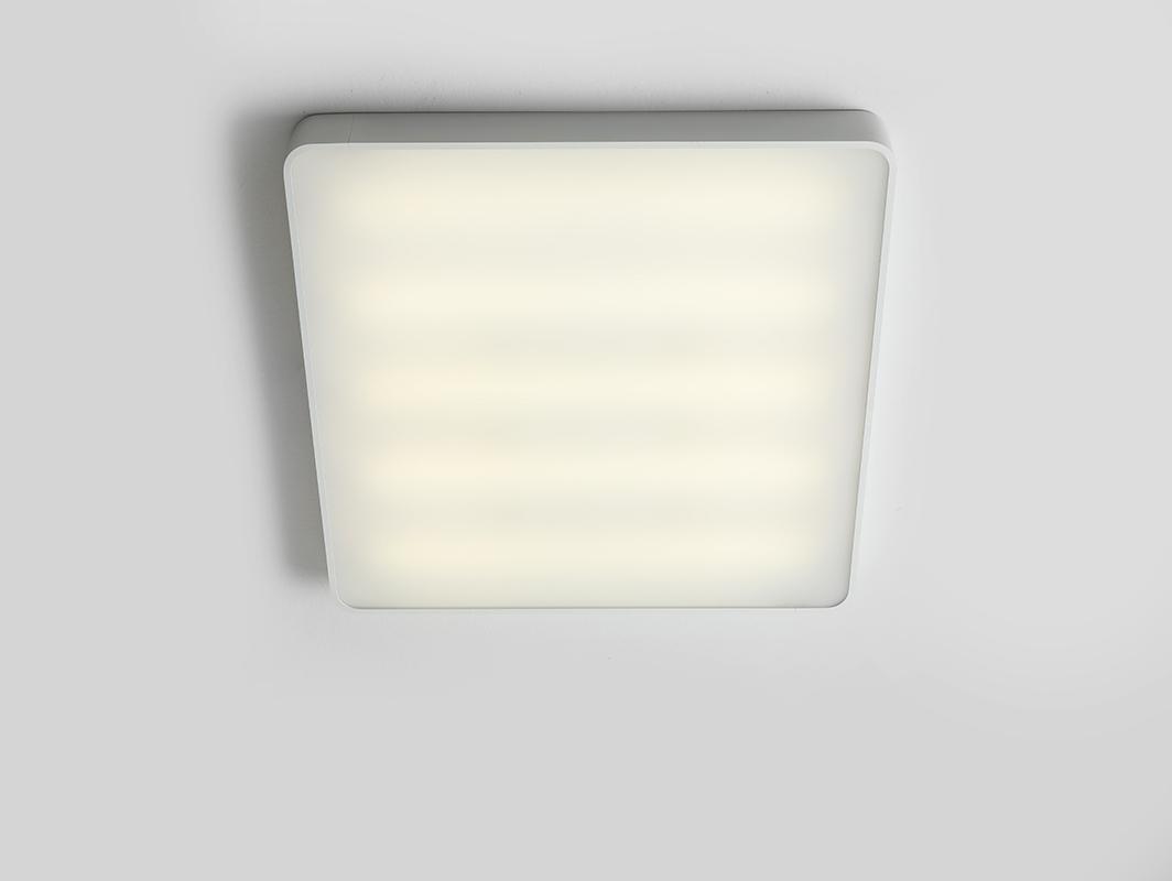 Stropní lampa LAXO 60x60 - bílá