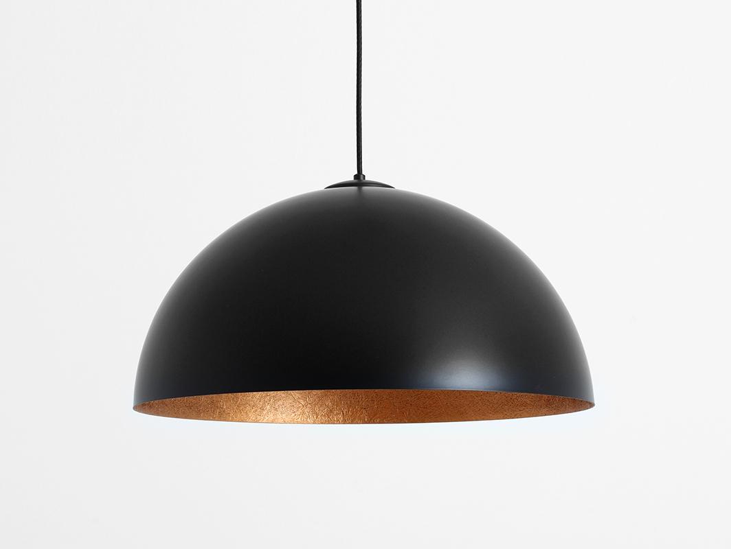Závěsná lampa LORD 50 - měď-černá