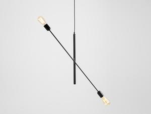 Závěsná lampa TWIGO 2 - černá small 3