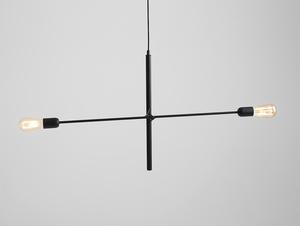 Závěsná lampa TWIGO 2 - černá small 0