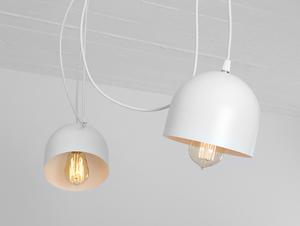Závěsná lampa POPO 4 - bílá small 3