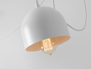 Závěsná lampa POPO 4 - bílá small 4