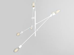 Závěsná lampa TWIGO 6 - bílá small 3