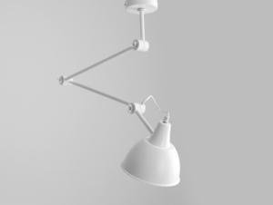 Závěsná lampa COBEN SUSPENSION - bílá small 0