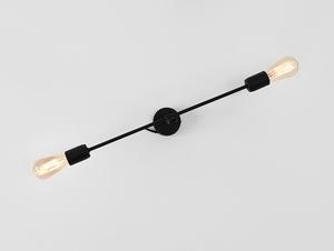 Nástěnná lampa TWIGO WALL 2 L - černá small 3