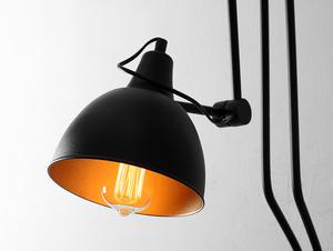 COBEN WALL 2 nástěnná lampa - černá small 3