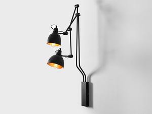 COBEN WALL 2 nástěnná lampa - černá small 0