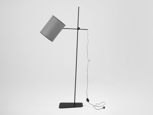 HOBBIT FLOOR I stojací lampa - šedá