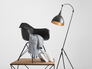 DEBY FLOOR stojací lampa - černá small 1