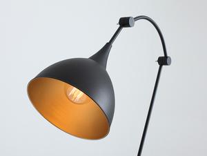 DEBY FLOOR stojací lampa - černá small 4