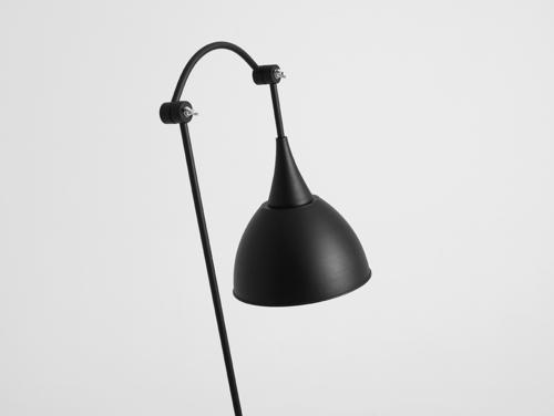 DEBY FLOOR stojací lampa - černá
