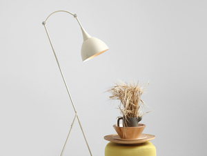 DEBY FLOOR stojací lampa - krémová small 1