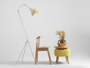 DEBY FLOOR stojací lampa - krémová small 2