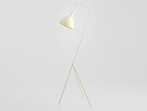 DEBY FLOOR stojací lampa - krémová small 3