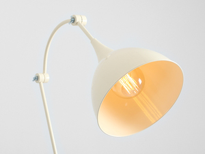 DEBY FLOOR stojací lampa - krémová small 4