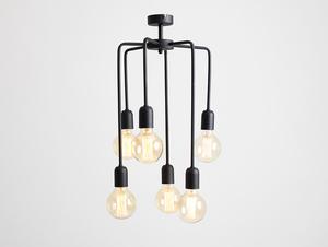 Závěsná lampa VANWERK TALL - černá small 3