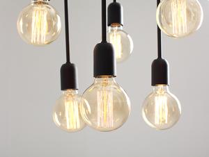 Závěsná lampa VANWERK TALL - černá small 4