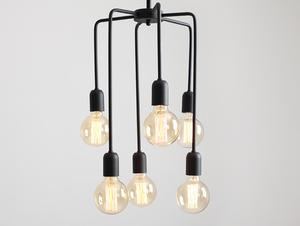 Závěsná lampa VANWERK TALL - černá small 0