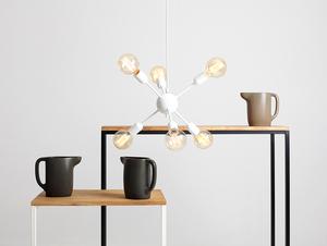Závěsná lampa VANWERK BALL - bílá small 1