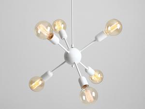 Závěsná lampa VANWERK BALL - bílá small 0