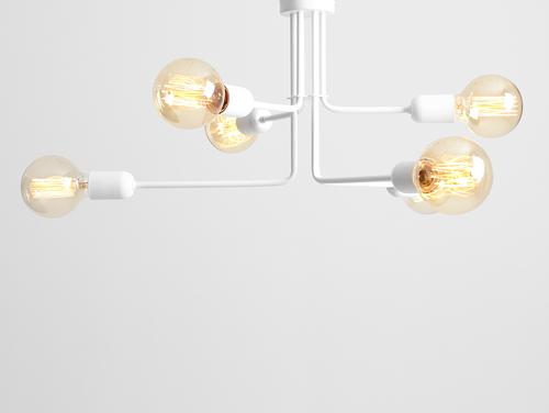 Závěsná lampa VANWERK 29 - bílá
