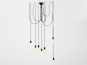 Závěsná lampa SPINNE 7 - černá small 0