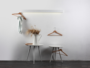 LINE WALL LED M nástěnná lampa - bílá small 1