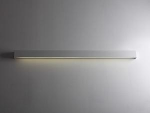LINE WALL LED L nástěnná lampa - bílá small 2