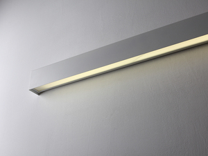 LINE WALL LED L nástěnná lampa - bílá small 3