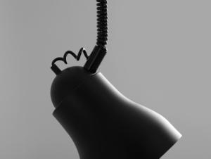 Závěsná lampa GLOBO - černá small 3
