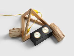 Stropní svítidlo FLASS 2 - černé small 2