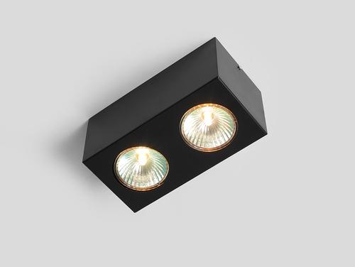 Stropní svítidlo FLASS 2 - černé
