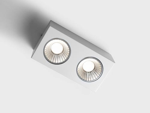 FLASS 2 LED stropní světlo - bílé