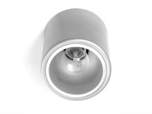 Stropní lampa DOWNSPOT SILVER M 19 - stříbrná small 2