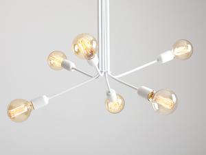 Závěsná lampa VANWERK 51 - bílá small 3
