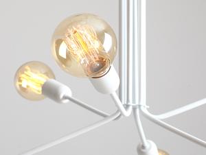 Závěsná lampa VANWERK 51 - bílá small 4