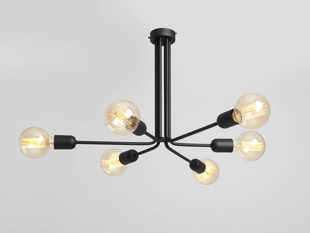 Závěsná lampa VANWERK 41 - černá