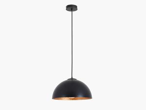 Závěsná lampa LORD 35 - měď-černá small 0