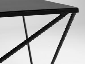Konferenční stolek DARYL METAL 140 small 4