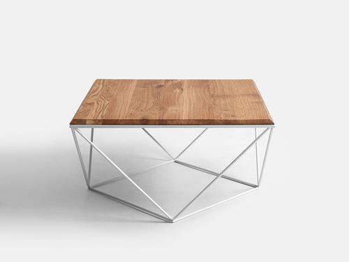 Konferenční stolek DARYL SOLID WOOD 80