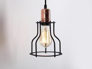 Nástěnná lampa WORKER WIDE WALL - černá small 2