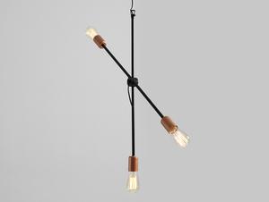 Závěsná lampa EPO 3 - černá small 0