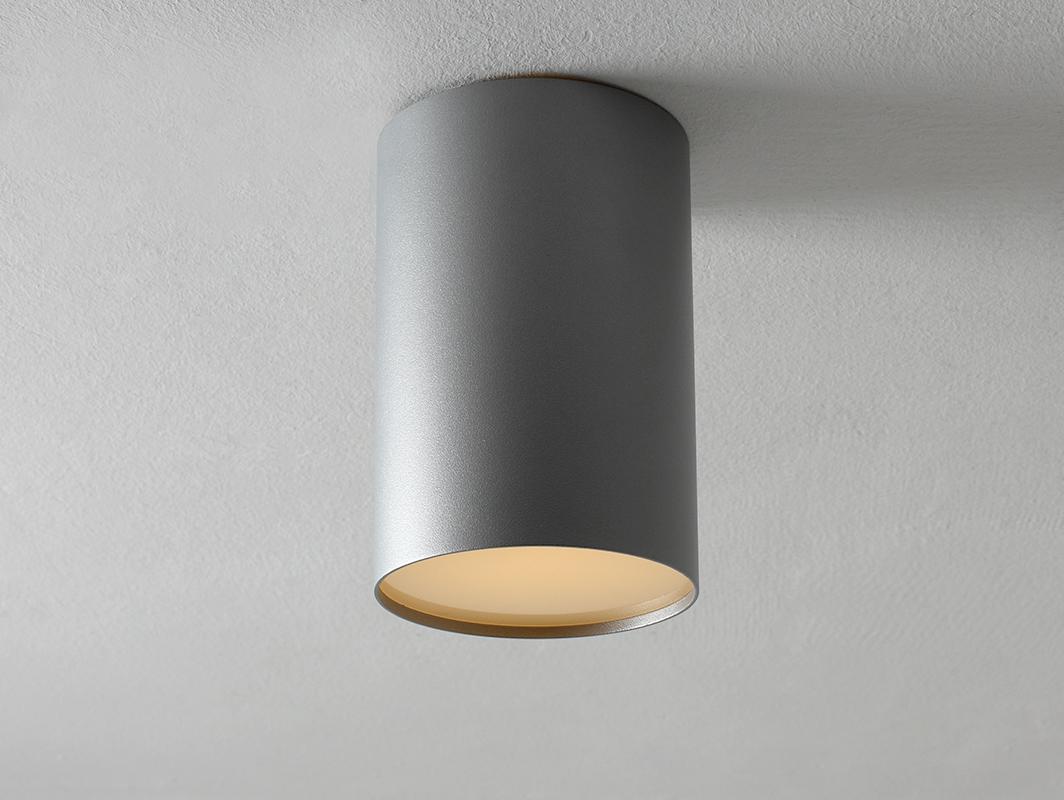 Stropní lampa U-LITE L - stříbrná