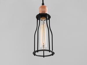 Závěsná lampa WORKER TALL - černá small 1